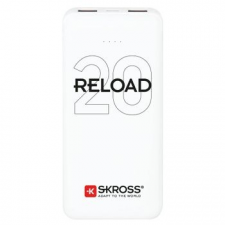 Skross Reload20 20Ah power bank USB/microUSB kábellel, két kimenettel power bank