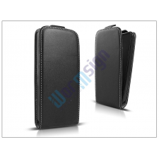 Slim Slim Flexi Flip bőrtok - Alcatel One Touch Idol 2 Mini S (OT-6036) - fekete tok és táska