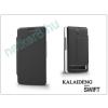 Slim Slim Flexi Flip bőrtok - Alcatel One Touch S Pop 4030D/Telenor One Touch Mini - fekete
