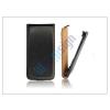 Slim Slim Flip bőrtok - Samsung SM-G920 Galaxy S6 - fekete