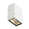 SLV-Big White QUAD 1 kültéri IP44, 1 x 3W LED fali lámpatest, fehér, QUAD - Big White SLV 232461