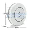SmartWise RF nyomógomb / csengőgomb