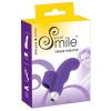 SMILE Finger - hullámos, szilikon ujjvibrátor (lila)