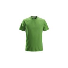 Snickers Classic férfi póló alma zöld 005 / M munkaruha