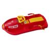 Snow Boat szabályozható bob - piros