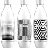 SodaStream 1 literes palack Tripack Fuse Black &amp, White