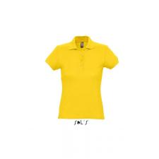 SOL'S PASSION női piképóló, arany női póló