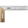 Sola SRB 200 rozsdamentes alu asztalos derékszög 200x145mm