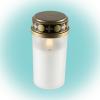 Somogyi Elektronic Home CDP 12/WH kegyeleti LED-es mécses, fehér