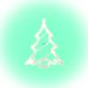 Somogyi Elektronic Home KID 412 LED-es ablakdísz, karácsonyfa, 19 cm