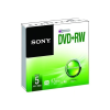Sony 5DPW47SS DVD+RW 4.7 GB 4x slim tok lemez 5db/csomag
