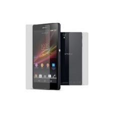 Sony C6902, C6903, C6906, C6943 Xperia Z1 kijelző védőfólia és hátlapi védőfólia* mobiltelefon előlap