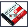 Sony Cyber-shot DSC-T3 3.6V 1000mAh utángyártott Lithium-Ion kamera/fényképezőgép akku/akkumulátor