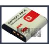 Sony DSC-H10 3.6V 1500mAh utángyártott Lithium-Ion kamera/fényképezőgép akku/akkumulátor