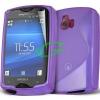 Sony-Ericsson Sony Ericsson ST15 Xperia Mini lila szilikon tok