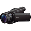 Sony FDR-AX100E 4K UHD videokamera fekete