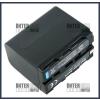 Sony NP-F750 7.2V 6600mAh utángyártott Lithium-Ion kamera/fényképezőgép akku/akkumulátor