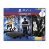 Sony Sony Playstation 4 Slim (PS4 Slim) 1TB + The Last of US + Ratchet & Clank + Uncharted 4