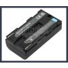 Sony UCX2 7.2V 2000mAh utángyártott Lithium-Ion kamera/fényképezőgép akku/akkumulátor