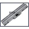 Sony VAIO VGN-CS27/R 4400 mAh 6 cella ezüst notebook/laptop akku/akkumulátor utángyártott