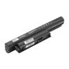 Sony VPC sorozat VPC-EB3E1E laptop akkumulátor, új, gyárival megegyező minőségű helyettesítő, 9 cellás (6600mAh)