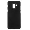 Sony Xperia L2, Műanyag hátlap védőtok, gumírozott, fekete