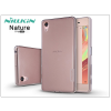 Sony Xperia X (F5121) szilikon hátlap - Nillkin Nature - szürke