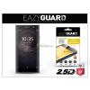 Sony Xperia XA2 (H3113/H3123/H3133/H4113/H4133) gyémántüveg képernyővédő fólia - Diamond Glass 2.5D Fullcover - fekete