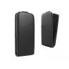 Sony Xperia Z3, Forcell lenyitható bőrtok, Slim Flexi, felfelé nyíló - kinyitható, fekete