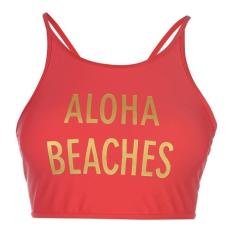 SoulCal női bikini felső - SoulCal Crop Bikini Top Ladies Red