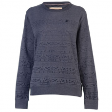 SoulCal női pulóver - SoulCal Native Crew Sweater Ladies Charcoal