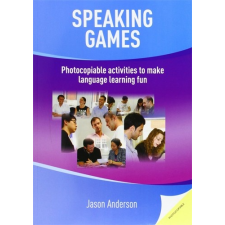 Speaking Games idegen nyelvű könyv