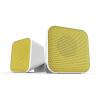 """Speedlink Hangszóró, 2.0, sztereó, 6W, USB, SPEEDLINK """"Snappy"""", fehér és sárga"""