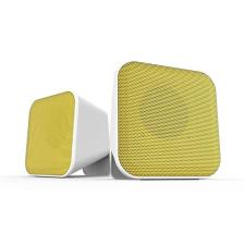 """Speedlink Hangszóró, 2.0, sztereó, 6W, USB, SPEEDLINK """"Snappy"""", fehér és sárga hangszóró"""