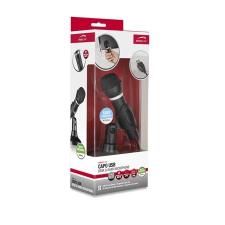 """Speedlink Mikrofon, asztali-kézi, vezetékes, USB, SPEEDLINK """"Capo"""", fekete mikrofon"""