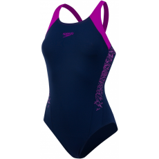 Speedo Boom Splice Muscleback Navy/Diva 40