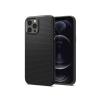 Spigen Apple iPhone 12/12 Pro ütésálló hátlap - Spigen Liquid Air - fekete
