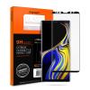 Spigen Glas.tR Curved Samsung Galaxy Note 9 fekete edzett üveg hajlított kijelzővédő fólia