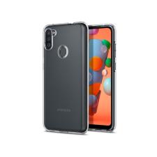 Spigen Samsung A115F Galaxy A11 ütésálló hátlap - Spigen Liquid Crystal - átlátszó tok és táska