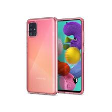 Spigen Samsung A515F Galaxy A51 ütésálló hátlap - Spigen Liquid Crystal - átlátszó tok és táska