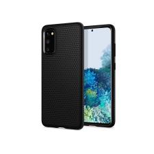Spigen Samsung G980F Galaxy S20 ütésálló hátlap - Spigen Liquid Air - fekete tok és táska