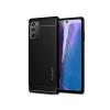 Spigen Samsung N980F Galaxy Note 20 ütésálló hátlap - Spigen Rugged Armor - fekete