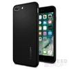 Spigen SGP Liquid Air Armor Apple iPhone 8 Plus/7 Plus Black hátlap tok