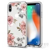 Spigen SGP Liquid Crystal Apple iPhone X Aquarelle Rose hátlap tok