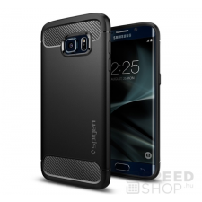 Spigen SGP Rugged Armor Samsung Galaxy S7 Edge Black hátlap tok tok és táska