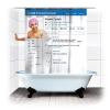 SpinningHat Facebook zuhanyfüggöny