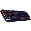 Spirit of Gamer ELITE-K10 3 színű LED USB fekete magyar (CLA-EK10)
