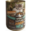 Spirit of Nature Cat konzerv Junior Bárányhússal és nyúlhússal 415g