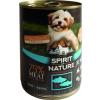 Spirit of Nature Dog konzerv Tonhallal és lazaccal 415g