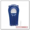 Splash felfújható mini strandmatrac, kék